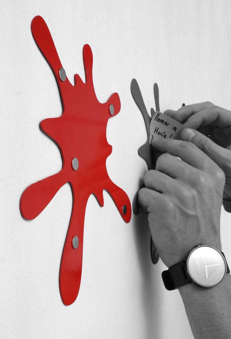 Nombre: Tablero magnetico Mancha + Diseño: Nicolas Estrada G. + Bogotá, Colombia. https://www.facebook.com/negodiseno/