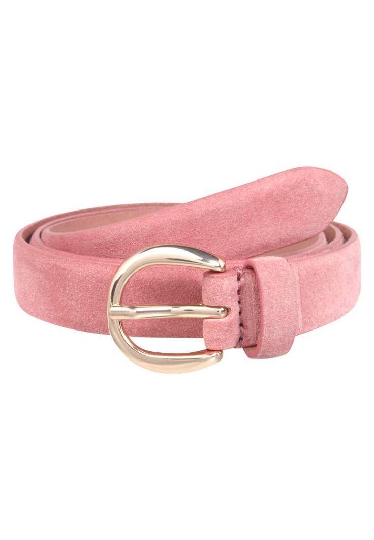 Esprit. Cintura - dark old pink . Composizione:100% Pelle. Chiusura:Fibbia. Larghezza:2.5 cm nella taglia 85. Fantasia:monocromo