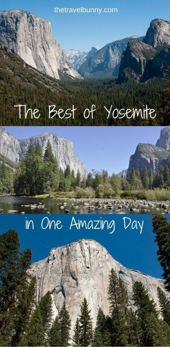 The Travelbunny guide on how to get the best out of a day trip to Yosemite National Park, California