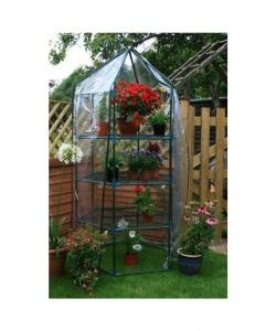 Large Hexagonal Grow House including Shelving - only £35.99 with Free Shipping