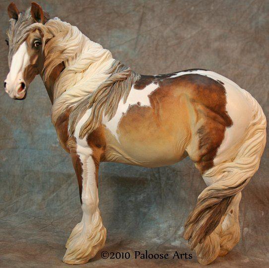 Beautiful painted horse at paloosearts.com