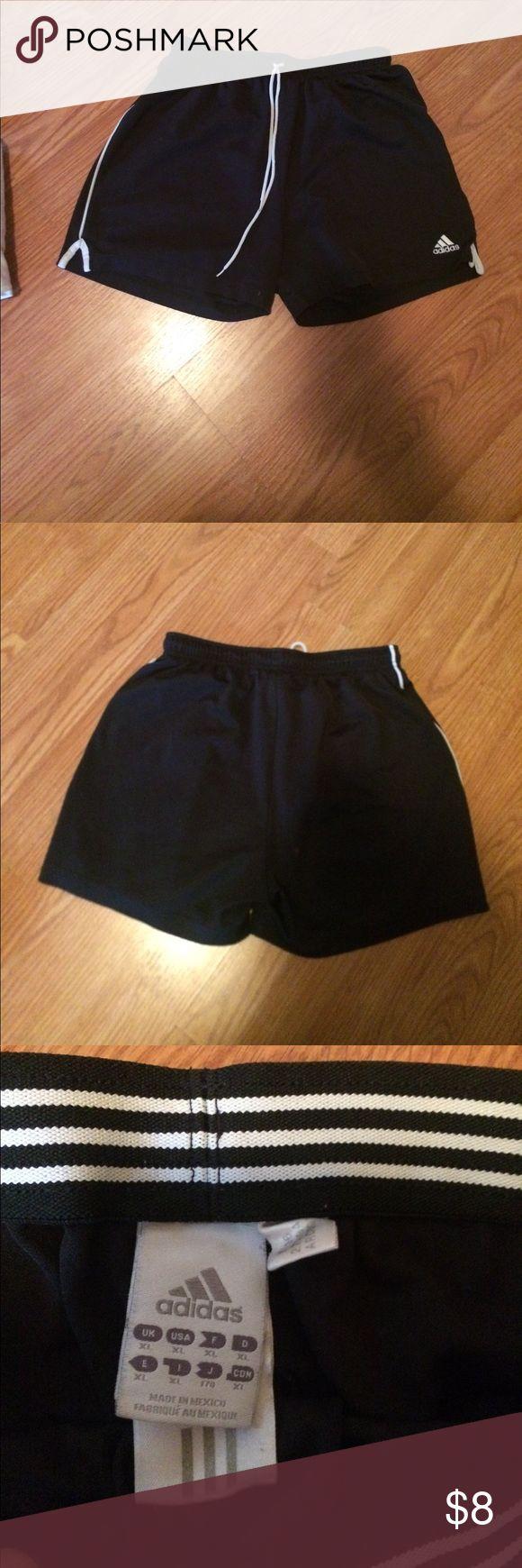 Adidas soccer shorts Kids XL but fit an adult small adidas Bottoms Shorts