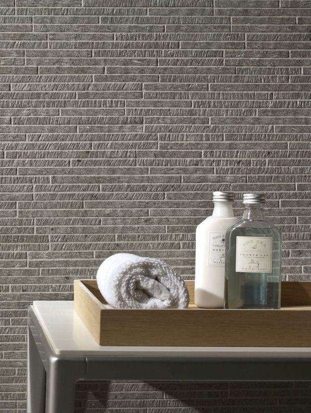 An idea for your #wall - Decor of WALK ON Collection view more at... http://www.caesar.it/piastrelle-gres-porcellanato/1360-walk-on/index.jsp