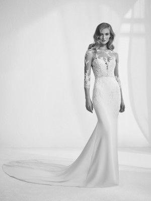 Brautkleid mit Tattoo-Effekt - Ragazza