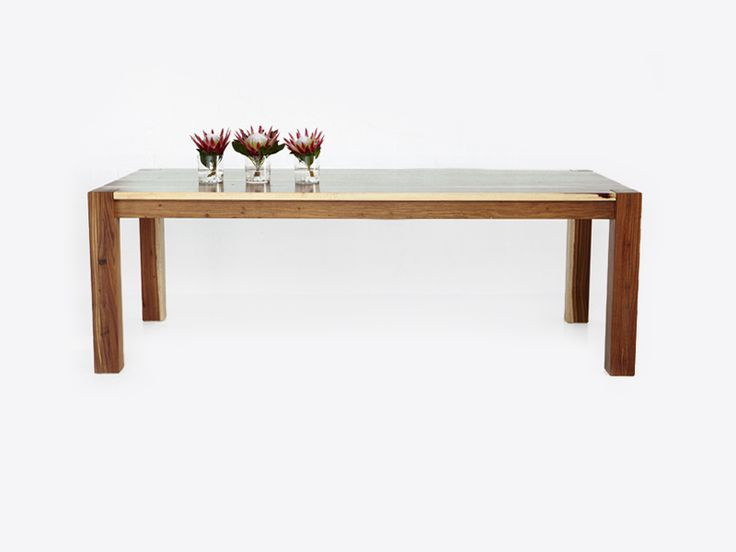 Cut Out Dining Table – Kiaat – R19,800