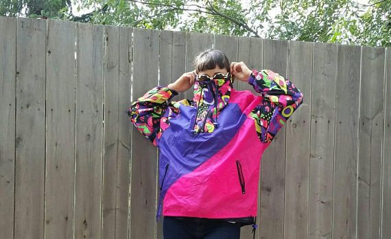 Check out this item in my Etsy shop https://www.etsy.com/listing/545868436/vintage-1980s-geometric-neon-windbreaker