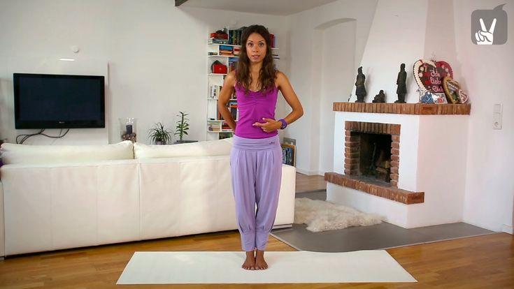 Yoga Anfänger Stehhaltungen Vollprogramm - 25 Minuten