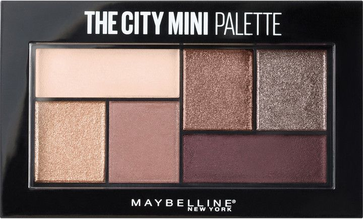 Maybelline The City Mini Palette Chill Brunch Neutrals, new for summer 2017