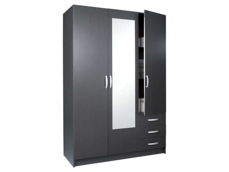 1000 ideas about armoire 3 portes on pinterest armoire pin massif armoire - Armoire penderie 3 portes ...