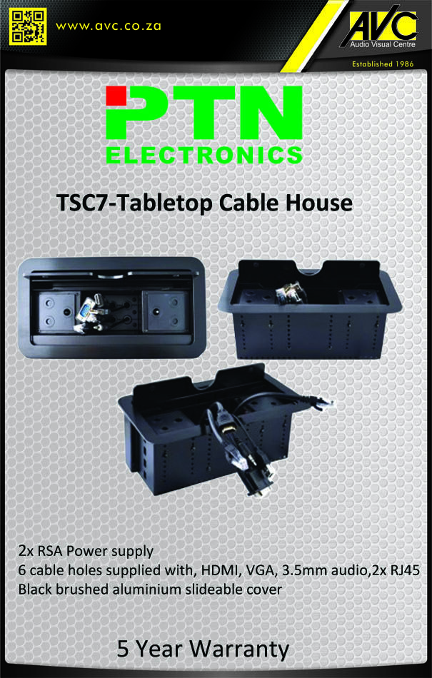PTN TSC7 Tabletop Cable house