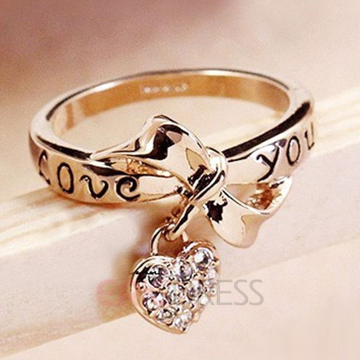 LOVE YOU Golden Bowkont Special Ring 1