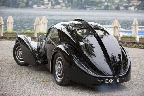 La Dolce Vita, Ralph Lauren's Bugatti Type 57 Atlantic at Lake Como
