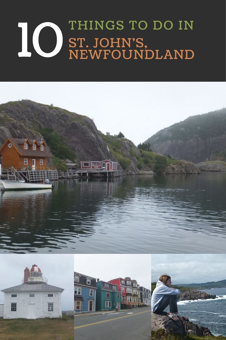 10 Things to See and Do in St. John's, Newfoundland, Canada | Gone with the Family