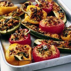 Gevulde mediterrane groenten recept - Recepten van Allrecipes