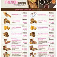 Delifrance Coupons Front Page