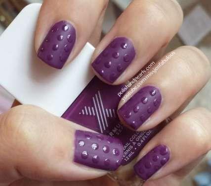nails matte design polka dots 64 ideas  matte nail art