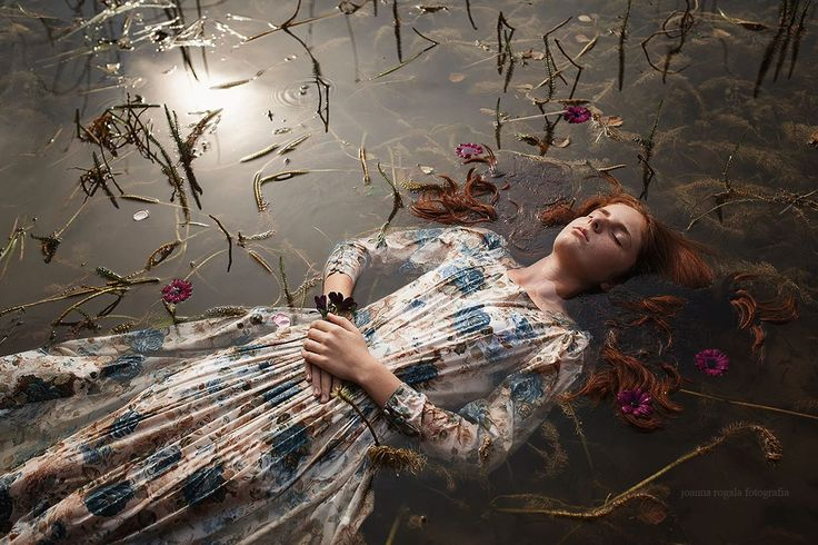 "Photo: Joanna Rogala ""Ophelia""  Follow us on https://www.facebook.com/imaginarium.net and www.theimaginarium.it"