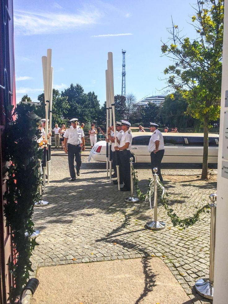 Marine Hochzeit in Rostock Warnemünde