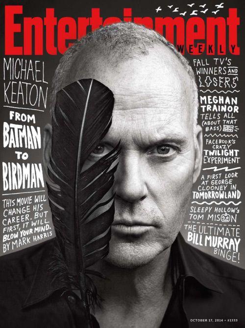 Enterteinment Weekly. Michael Keaton. Alejandro González Iñárritu. Birdman. Batman. Cover.