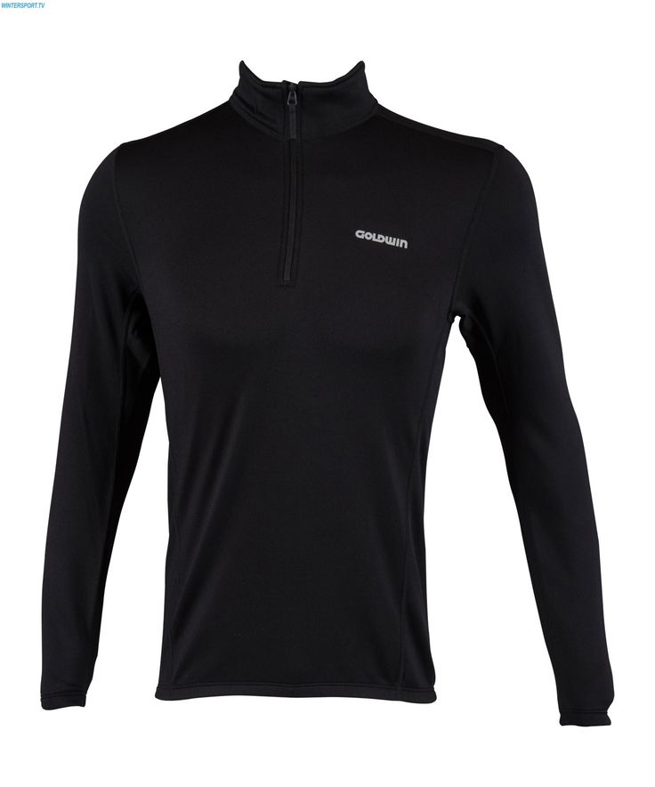 Goldwin Men Heat Stretch Layer Shirt - Black