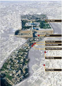 King Davids Palace   Did I Find King David's Palace? – Biblical Archaeology Society