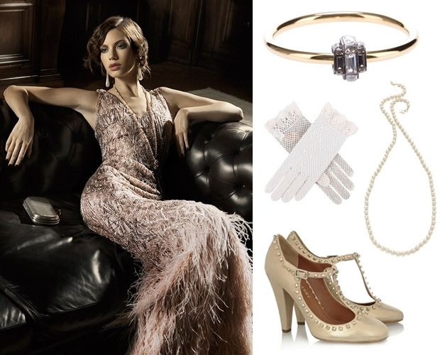 Article: 5 ways to indulge in the 1920s trend- without looking like you're in costume, how to style a flapper outfit.   http://www.fashionising.com/clothing/b--how-to-style-a-flapper-outfit-56444.html