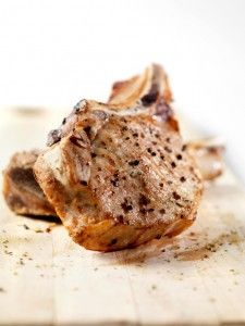 Crock pot pork chops - plenty of liquid in this recipe to make it thermal cooker-doable and have a nice gravy, to boot. Serve with mashed potatoes, cooked in the thermal cooker top pot.