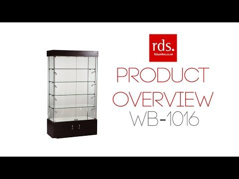 WB-1016 Wooden Display Cabinet White - Tall Wooden Cabinets - Wooden Cabinets Range - Display Cabinets
