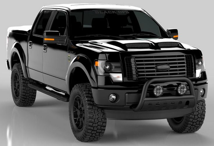 2015 Ford F-150 Black Ops Edition.    http://blog.dupontregistry.com/ford/2015-ford-f150-black-ops-edition/