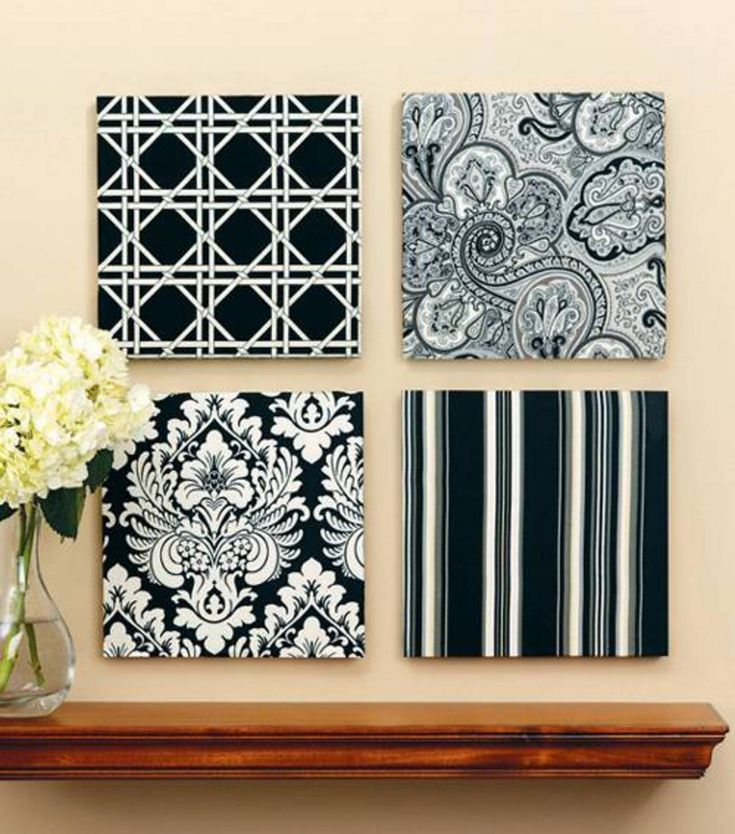 Fabric Wall Coverings Diy Crafts