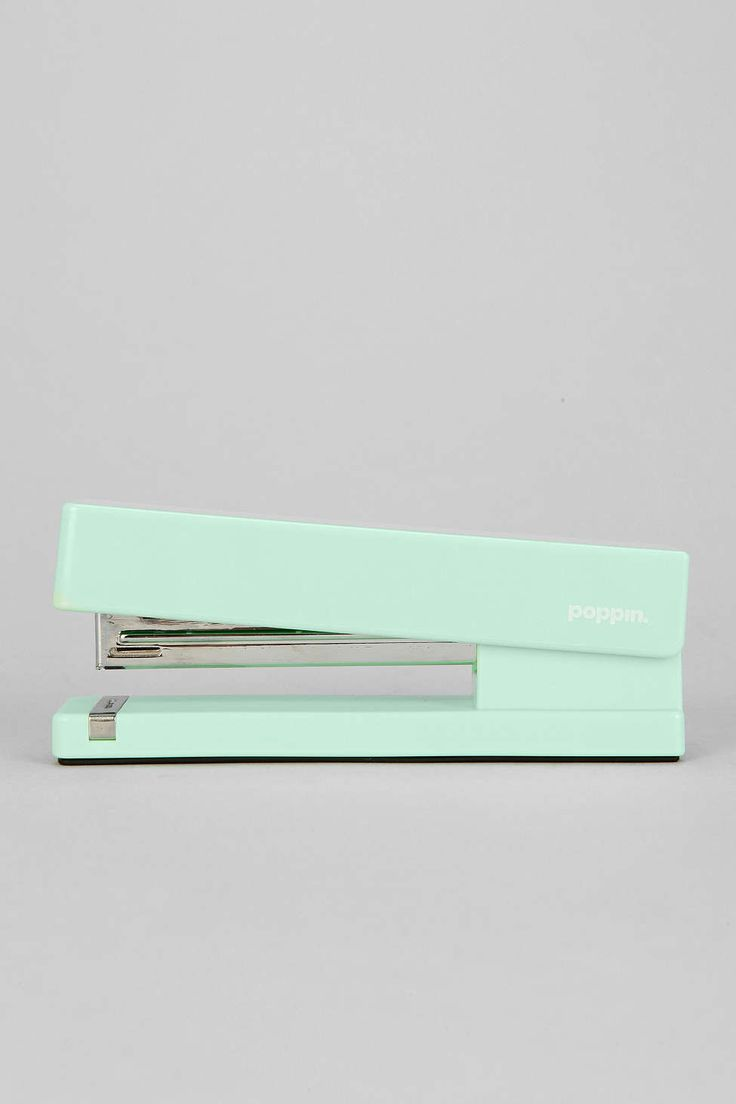 poppin. Stapler. this modern stapler comes in a large array of colors, there has got to be one that will liven up your workspace!