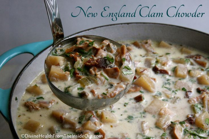 New england clam chowder slow cooker style recipe for Fish chowder slow cooker