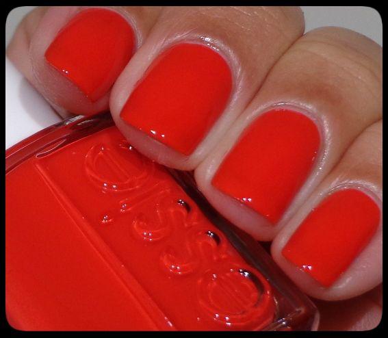 Essie Nail Polish Orange Shades: Best 25+ Red Summer Nails Ideas On Pinterest