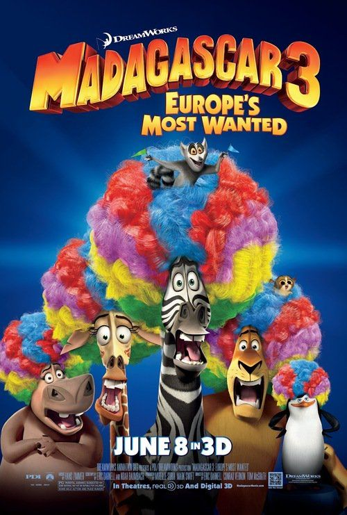 Watch->> Madagascar 3: Europe's Most Wanted 2012 Full - Movie Online