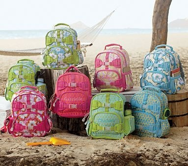 I love the Preschool Mackenzie Girls' Backpacks on potterybarnkids.com