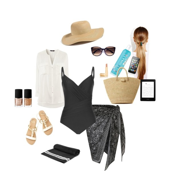 What to Wear to the Beach by elizabeth-ward-langston on Polyvore