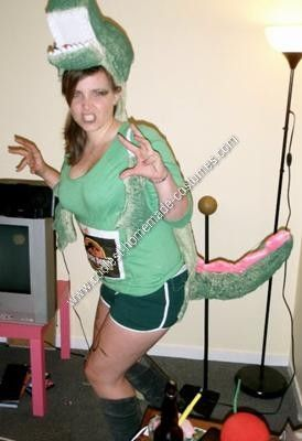 13 best costumes images by theresa richards on pinterest halloween homemade womans t rex dinosaur costume rawr this year i decided to be a dinosaur for halloween so i could spend the entire night rawring solutioingenieria Image collections