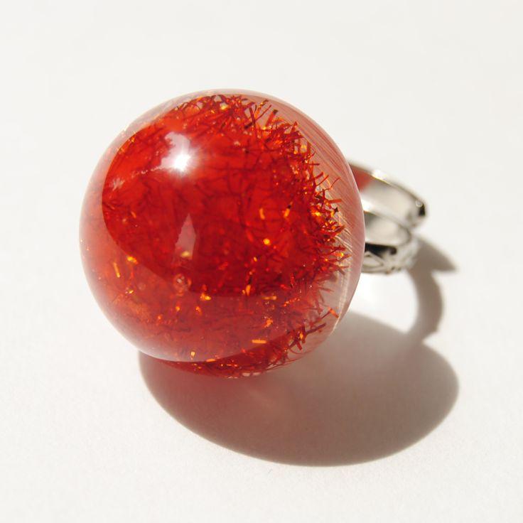 anillos en resina y alpaca cromada disponible ya en http://www.martinpescador.com.co/