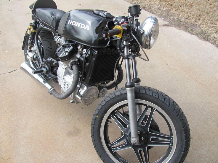 1978 Honda CX500 Motorcycle Road Bike Build Cafe Racer