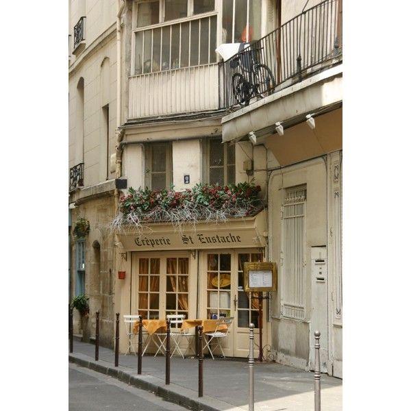FOTOPIKS | Paris Street Cafe ❤ liked on Polyvore