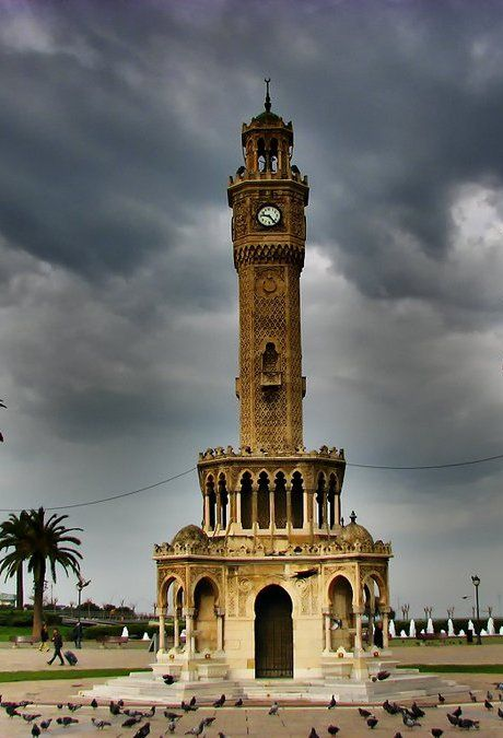 turkuazimtrak:        saat kulesi, izmir, Turkiye