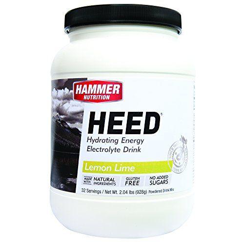 Hammer Nutrition HEED Lemon/Lime, 32 servings - Men's