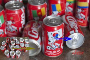 a coca cola coke bulgaria bote cerrado mundial futbol eeuu lata bulgarie