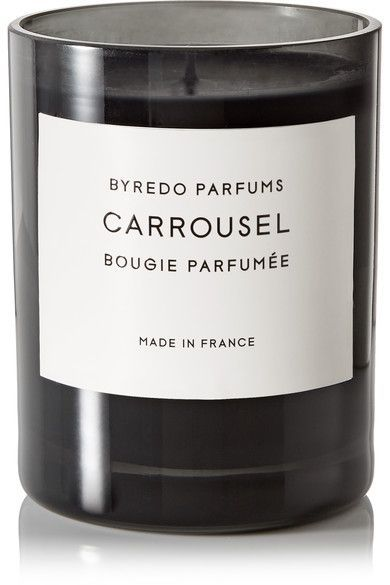 BYREDO Carrousel scented candle, 240g. #byredo #homeware