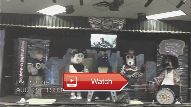 Chuck E Cheese's Beatles Birthday Lip Sync Clip Old Look  Audio clip recorded from showbizpizzacom's Radio Showbiz Also check out my instagram page for behind the scenes pic