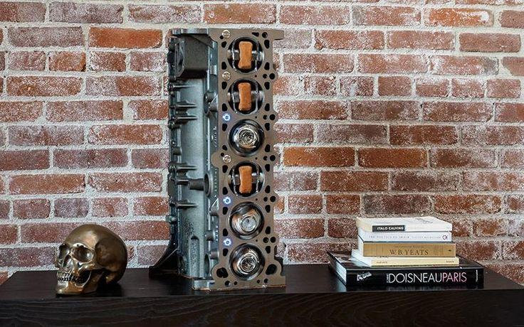 Vulcan Innova converts BMW M52 engine into chic VI52 watch winder