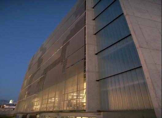 DUOC Puente Alto  Producto: Revestimientos Interiores de Muro   Miniwave, Cortasoles Lineales   Tubrise  Programa: Universidad