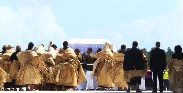 Tonga's final farewell for their King