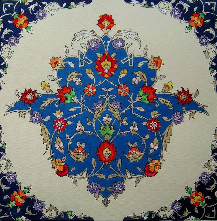 Persian Illuminations (Tazhib) artwork by Mojgan Lisar: Toranj