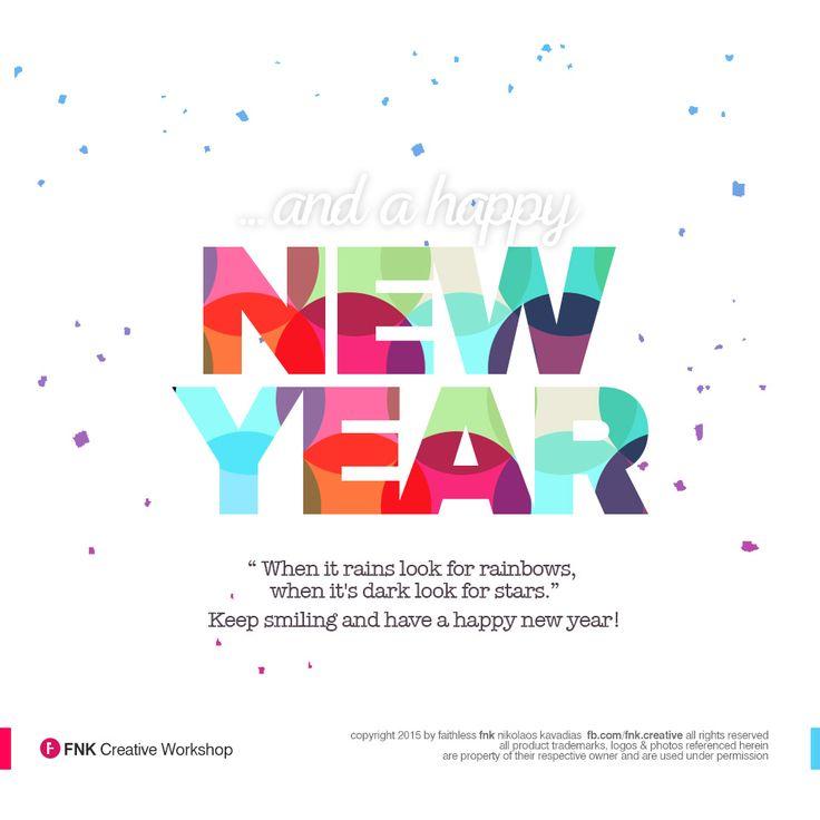 Happy New Year Card / FNK Creative Workshop